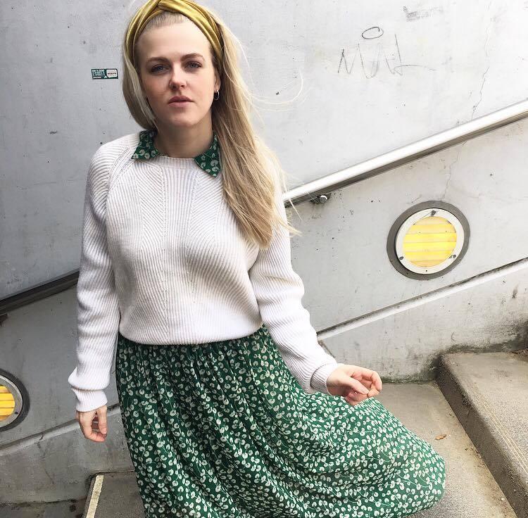 That Ganni dress – Christine Delmar