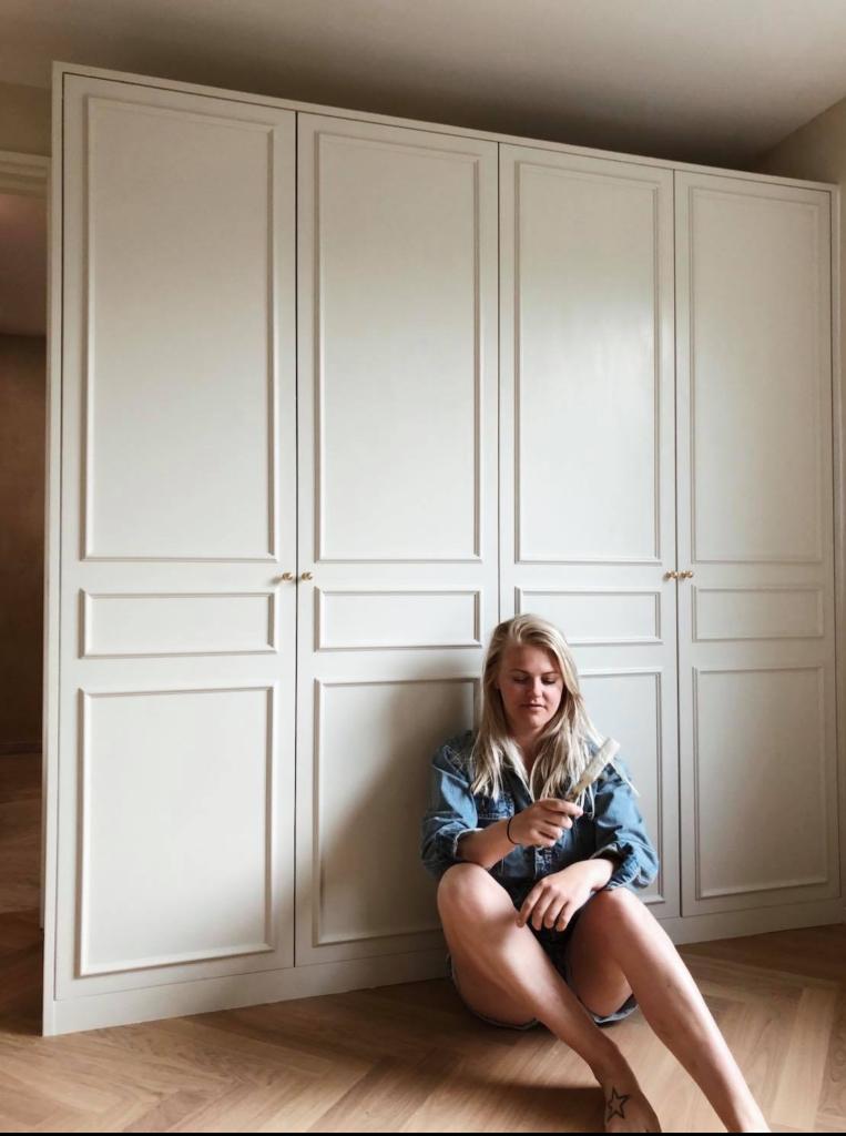 Picture of: Diy Indbyggede Garderobeskabe Ikea Pax Hack Christine Delmar